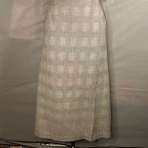 Vintage David N Wool Maxi Skirt